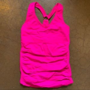 Nux Active Neon Pink Compression Tank